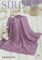Sirdar Leaflet 4703 Baby Dk Blanket