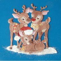 Patchwork Cutters Reindeer