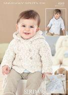 Sirdar Leaflet no 4569 Baby Boys Coat