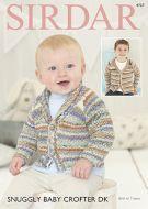 Sirdar Leaflet no 4757 Baby Crofter Boys DK  Cardigan