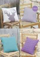 Sirdar Leaflet No 7755 Cushions