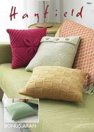 Sirdar Leaflet No 7803 Bonus Aran Cushions