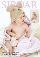 Sirdar Leaflet No 4701 Sweetie Blanket