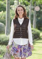Sirdar Leaflet No 7045 Crochet Waistcoat