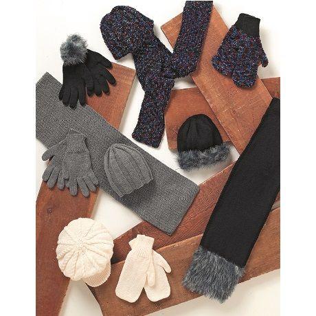 Stylecraft Leaflet 8078 Aran Caps/scarves