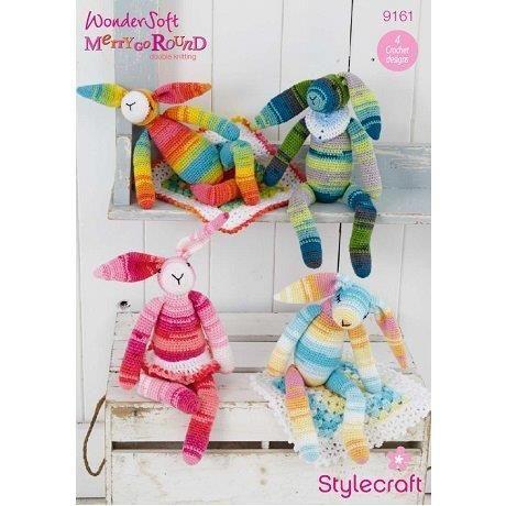 Stylecraft Leaflet 9161 Crochet Bunny