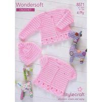 Stylecraft Leaflet 8571 Baby Crochet