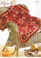 Stylecraft Leaflet 9100 Crochet Throw