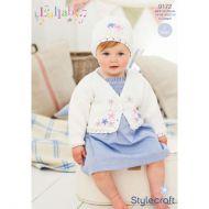 Stylecraft Leaflet 9172 Baby Girls Cardigan