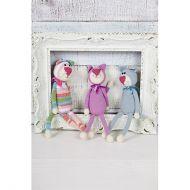 Stylecraft Leaflet 9214 Crochet Cats
