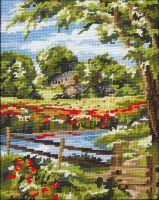 Anchor Summer Scene Tapestry Kit.