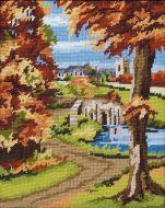 Anchor Autumn Scene Tapestry Kit.