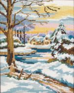 Anchor Winter Scene Tapestry Kit.