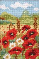 Anchor Poppy Field Tapestry Starter  Kit.