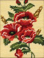 Anchor Poppy Tapestry Starter Kit.