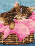 Anchor Kitten Tapestry Starter Kit.