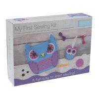 First Sewing Kit Owl Handbag and Charm