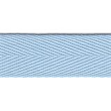 Herringbone Tape 20mm Pale Blue