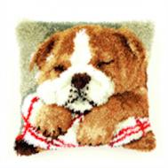 Vervaco  Bulldog Latch  Hook  Cushion Kit