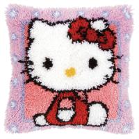 Vervaco  Hello Kitty Latch  Hook  Cushion Kit