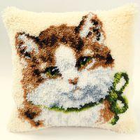Vervaco  Kitten Latch  Hook  Cushion Kit
