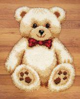 Latch Hook Kit: Rug: Teddy