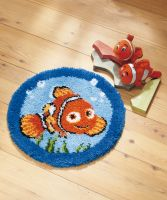 Latch Hook Kit: Circular Rug: Disney  Nemo