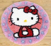 Latch Hook Rug Kit: Hello Kitty