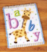 Latch Hook: Rug: Baby Giraffe II