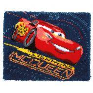 Latch Hook: Rug: Disney: Cars - Screeching Tires