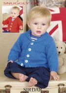 Sirdar Baby Boy cardigan Pattern Number 1897
