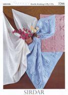 Sirdar Leaflet Number 3266 Baby Blankets