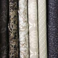 Black & Grey Fabric