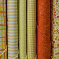 Orange & Yellow Fabric
