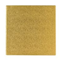 Gold 14 Inch Square Cake board