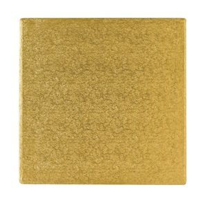Gold 10 inch Square Cake board