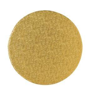 Gold 12inch Round Cake board