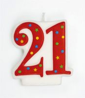 Number Candle 21