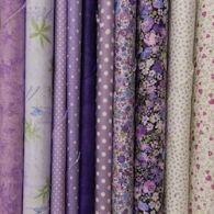 Purple & Lilac Fabric