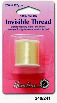 Invisible Thread Clear