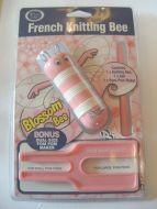 Knitting Bee Set Pink