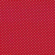 Makower White Spot on Red