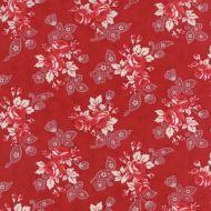 Moda Miss Scarlet Red Floral