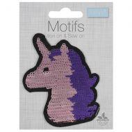 Flip Sequin Motif - Unicorn