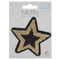 Flip Sequin Motif - Star
