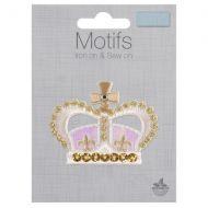 Sequin Motif - Crown