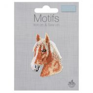 Embroidered Motif - Horse Head