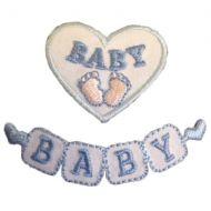 CF motif Baby Blue