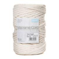 Cotton Macramé Cord: 7mm x 50m: 0.5kg: Natural