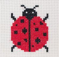 Anchor 1st Cross Stitch Kit Ladybird